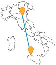 Viaggiare in bus low cost verso la Sicilia con il pullman da Bologna a Palermo
