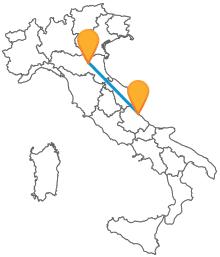 L'autobus da Bologna a Pescara sarà la scelta migliore per viaggiare risparmiando