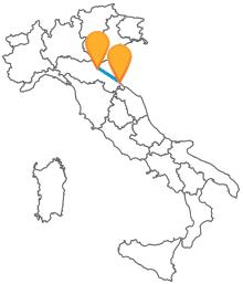 Viaggiate verso la costa romagnola con il pullman da Bologna a Rimini
