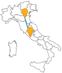 Acquistate un biglietto low cost e viaggiate in pullman da Bologna a Roma