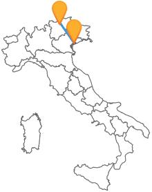 Scegliete il modo più veloce per viaggiare, con il bus tra Bolzano e Venezia
