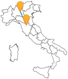 Acquista subito un biglietto del bus tra Brescia e Firenze