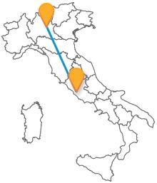 Il pullman tra Brescia e Roma vi condurrà a destinazione risparmiando
