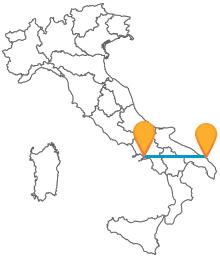 Il bus tra Brindisi e Napoli vi permetterà di risparmiare sul viaggio tra Puglia e Campania