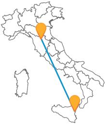 Il viaggio tra Sicilia e Toscana sarà economico con un pullman da Catania a Firenze
