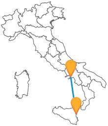 Affrontate un viaggio alla scoperta del Sud con un autobus tra Catania e Napoli