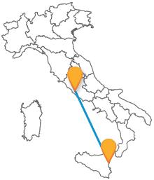 Prendete un comodo pullman da Catania a Roma e visitate la capitale