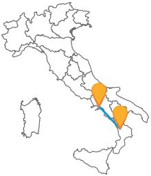 Con il pullman da Cosenza a Napoli viaggiare nel Sud Italia sarà facile ed economico