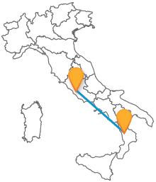 Viaggiare dal Sud alla capitale con la comodità dei pullman da Cosenza a Roma