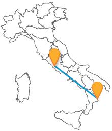 In viaggio dalla Calabria alla capitale con il pullman da Crotone a Roma