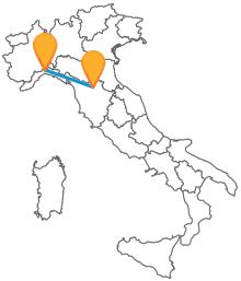 Lasciatevi condurre a destinazione dai comodi autobus tra Firenze e Genova