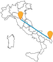 Attraversate l'Italia con l'autobus tra Firenze e Lecce