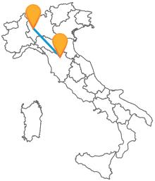 Viaggiate con tutti in comfort grazie agli autobus tra Firenze e Milano