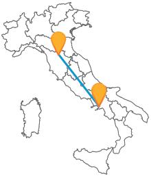 Prenotate subito un biglietto economico per l'autobus tra Firenze e Napoli