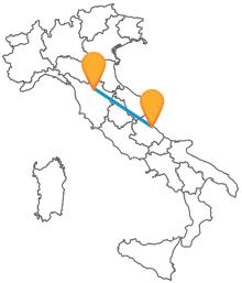 Approfittate dei comodi ed economici autobus tra Firenze e Pescara