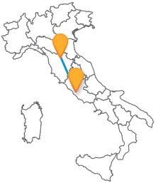 Viaggiare in Italia low cost con gli autobus da Firenze a Roma
