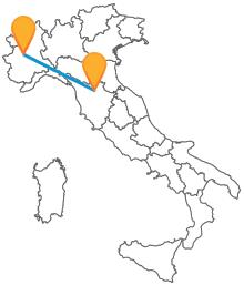 Lasciatevi coinvolgere da un viaggio in autobus tra Firenze e Torino