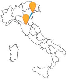 Visitate due città meravigliose viaggiando in autobus tra Firenze e Venezia