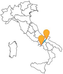 Trova gli orari dei pullman da Foggia a Napoli