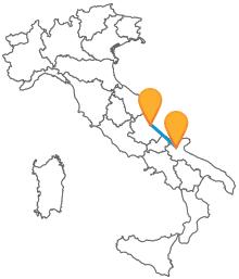 Prenotate ora un biglietto low cost da Foggia a Pescara e viaggiate comodamente lungo l'Adriatico
