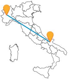 Viaggiate da nord a sud e viceversa con l'autobus da Foggia a Torino