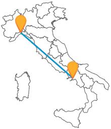 In autobus da Genova a Napoli: semplice ed economico