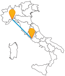 Acquistate un biglietto per l'autobus da Genova a Roma e viaggiate con tutti i comfort