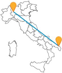 Viaggiare in pullman lungo tutta l'Italia non è un problema: prendete un autobus da Lecce a Milano e scopritelo