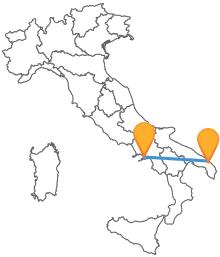 Acquistate un biglietto per il pullman da Lecce a Napoli e visitate le due meravigliose città meridionali
