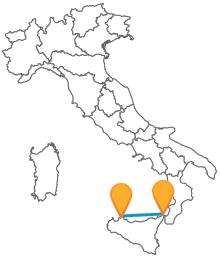 Cerca il tuo bus low cost tra Messina e Palermo