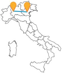 Con gli autobus tra Milano e Padova viaggerete risparmiando