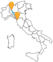 Con l'autobus tra Milano e Pisa arriverete comodi e sicuri a destinazione