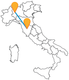 In autobus da Milano a Siena per risparmiare sul costo del biglietto