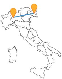 Consultate gli orari dei pullman tra Milano e Udine e partite per un viaggio comodo ed economico