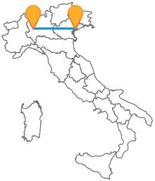 Prenota ora il tuo biglietto del bus da Milano a Venezia