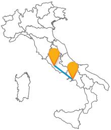 Acquistate ora un biglietto per il pullman tra Napoli e Roma
