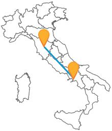 Acquistate ora un biglietto per l'autobus da Napoli a Siena