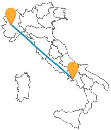 Prenotate ora il vostro biglietto dell'autobus tra Napoli e Torino e scoprite la bellezza delle due grandi città
