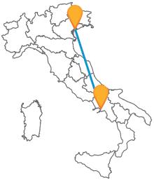 Non perdete l'occasione di viaggiare in autobus low cost tra Napoli e Venezia