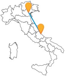Non lasciatevi scappare la possibilità di viaggiare in autobus da Padova a Pescara