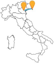 Confrontate i prezzi dei biglietti e partite in autobus da Padova a Trieste