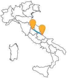 Non prdete l'occasione di viaggiare con un economico autobus da Perugia a Pescara