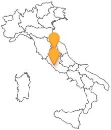 Viaggiare in modo economico con l'autobus tra Perugia e Roma