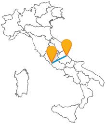 Trova gli orari dei pullman low cost da Pescara a Roma