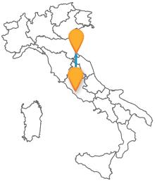 Viaggiate risparmiando con i bus da Rimini a Roma