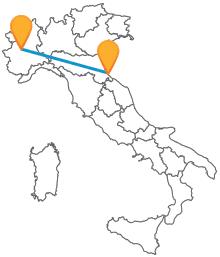 Acquistate un biglietto low cost per l'autobus da Rimini a Torino