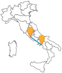 Confrontate gli orari del pullman tra Roma e Salerno