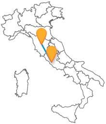 Risparmiate sul prezzo del biglietto con il bus da Roma a Siena