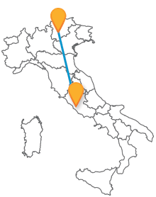 Visitate i monti del Nord Italia ed i suoi numerosi parchi naturali con un bus da Roma a Trento