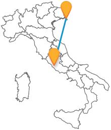 Il viaggio da e verso la capitale sarà più semplice con gli autobus da Roma a Trieste